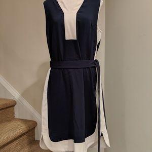 Ann Taylor Drop dress with belt